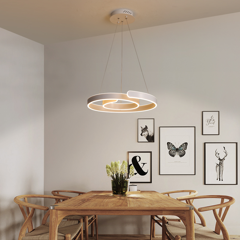Modern Ceiling Light Dinner Room Pendant Lamp Kitchen: New Modern Led Pendant Light For Kitchen Dining Room White