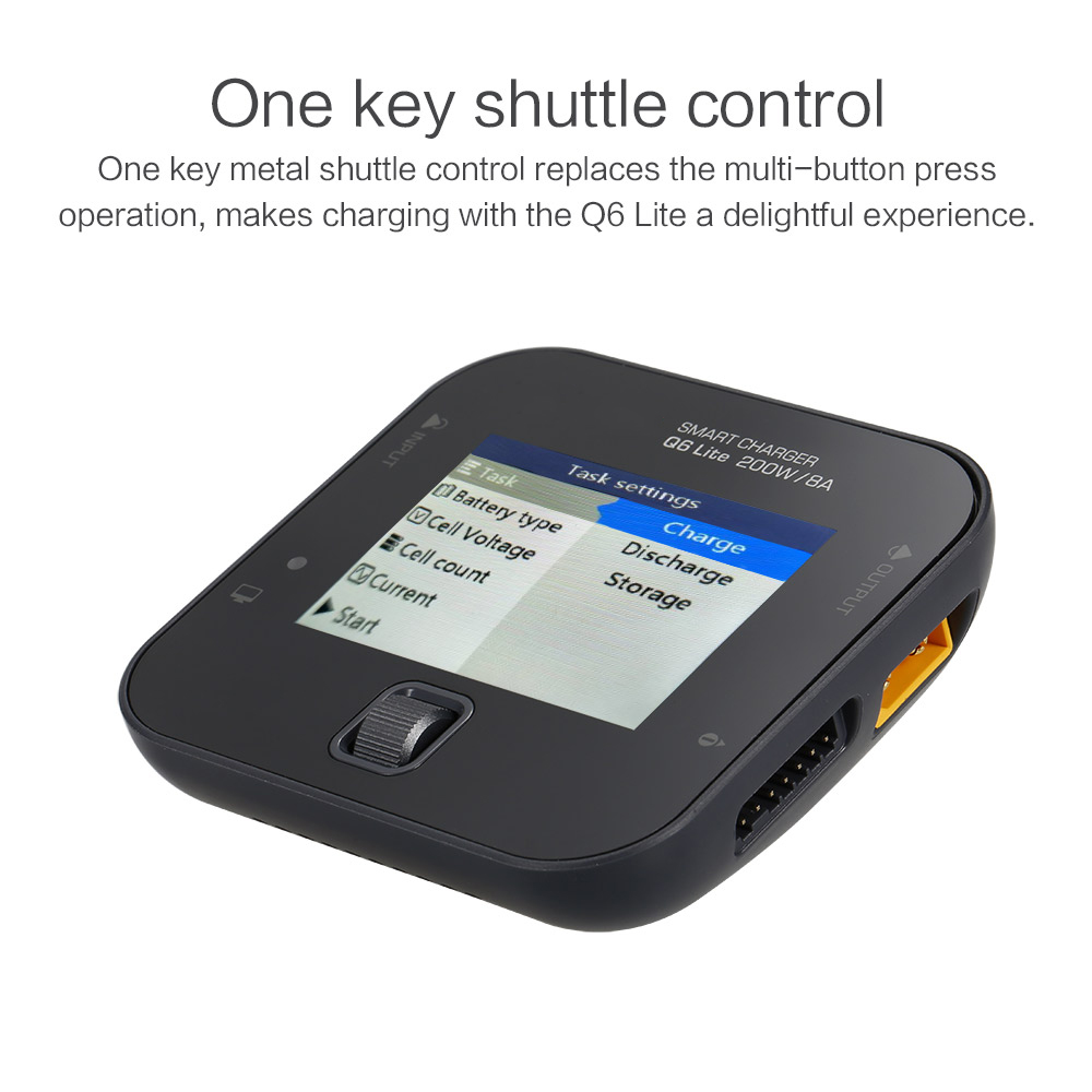 New iSDT Q6 lite 200W 8A Pocket Battery Balance Charger for RC Drone Helicopter Quad Car Boat RC Charger PartNew iSDT Q6 lite 200W 8A Pocket Battery Balance Charger for RC Drone Helicopter Quad Car Boat RC Charger Part