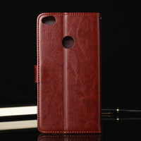 Luxury Genuine Leather Cover Cases Huawei P8 Lite 2017 Case Wallet Huawei Honor 8 Lite Case