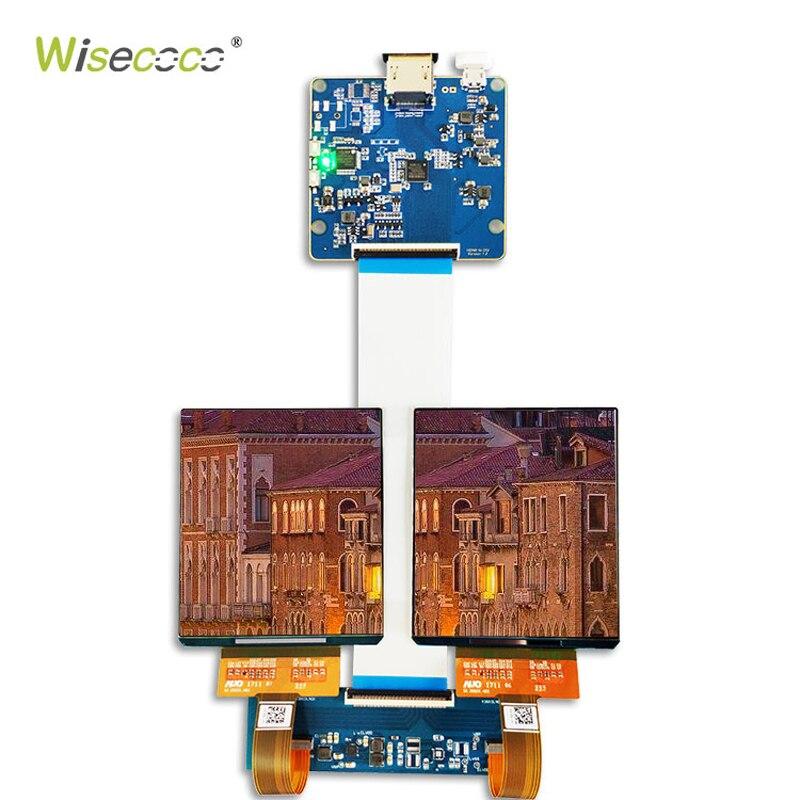 3.81 pouces 1080*1200 HCG AMOLED MODULE d'écran 39 broches MIPI à HDMI 3D VR affichage IPS