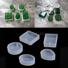 Diy Прозрачная силиконовая форма для изготовления ювелирных