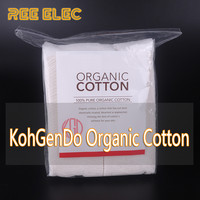 80pcs Pack Organic Cotton Stable Taste No Bleach Healthy Huge Vapor Cotton For E Cigarette RDA