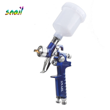 SNAIL 0.8mm/1.0mm Nozzle H-2000 Professional HVLP Spray Gun Mini Air Paint Spray Guns Airbrush For Painting Car Aerograph цена