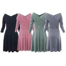 8df9270842c87 Flared Bottom Dresses Promotion-Shop for Promotional Flared Bottom ...