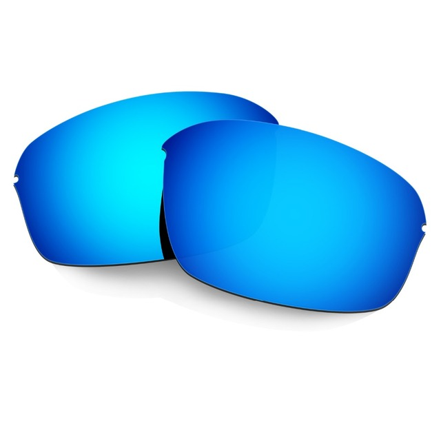 HKUCO Mens Replacement Lenses For Oakley Breadbox Blue/Black/Titanium Sunglasses jj0jot3Z5