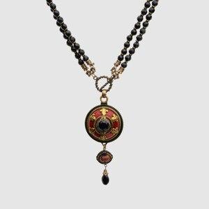 Image 2 - Amorita boutique Vintage negro collares de cuentas