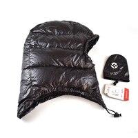 2017 AEGISMAX Outdoor Urltra Light Goose Dow Hat For Envelope Sleeping Bag