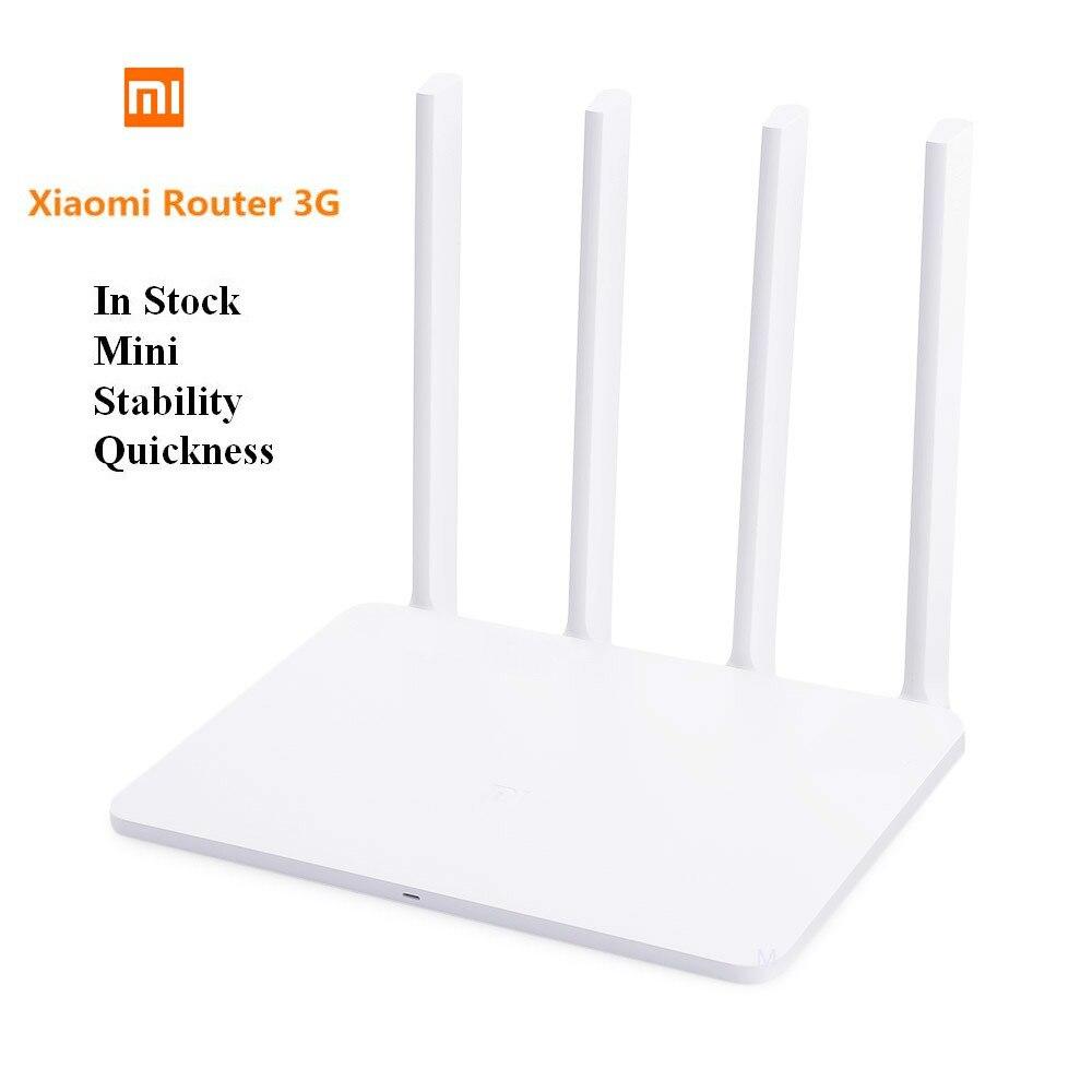 Xiao mi routeur 3G 1167 Mbps 2.4 GHz/5 GHz nouveau Style le plus chaud double 128 mo ROM USB 3.0 US/EU/AU Plug mi WiFi routeur