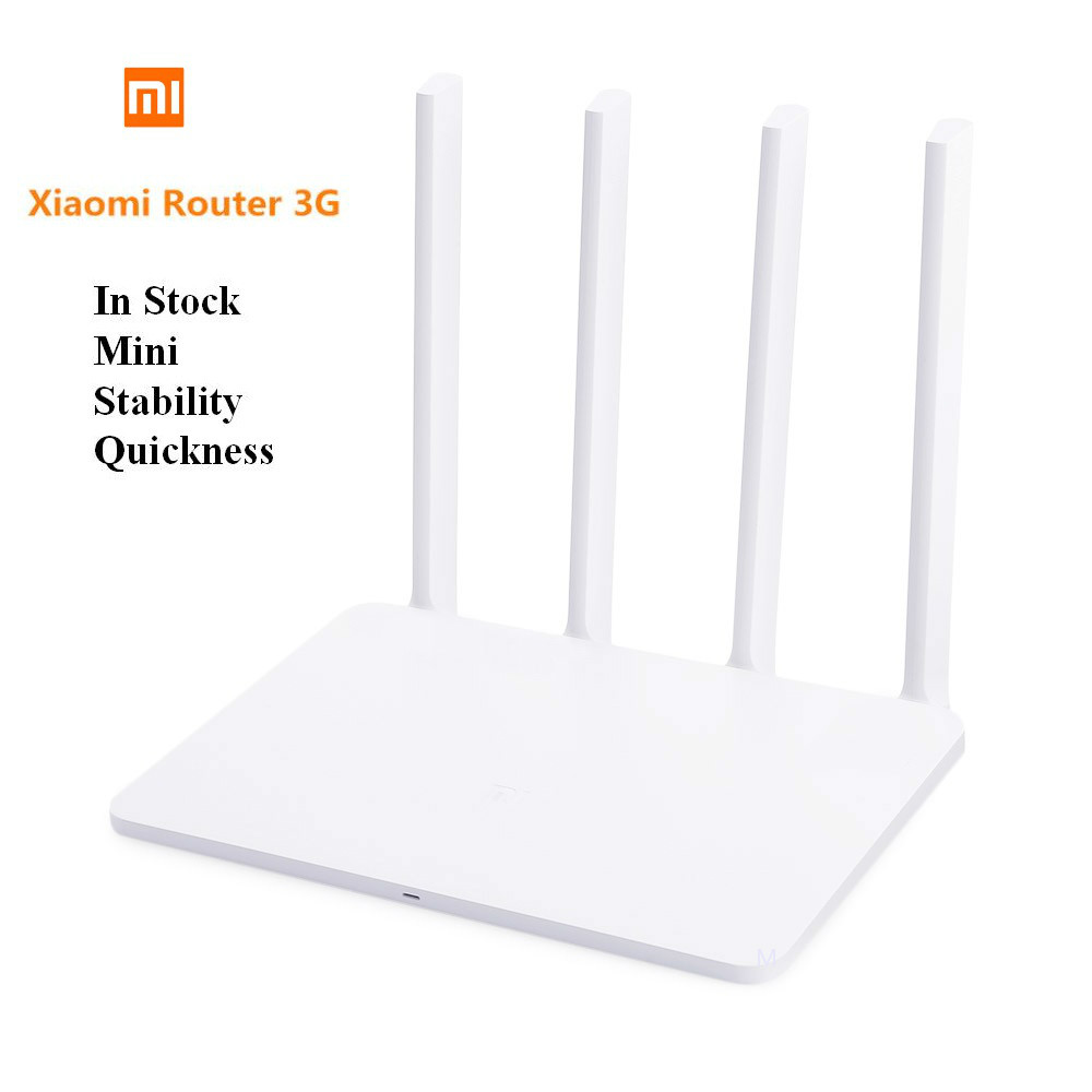 Xiaomi Router 3G 1167Mbps 2.4GHz / 5GHz New Style Hottest Dual 128MB ROM USB 3.0 US/EU/AU Plug Mi WiFi Router image