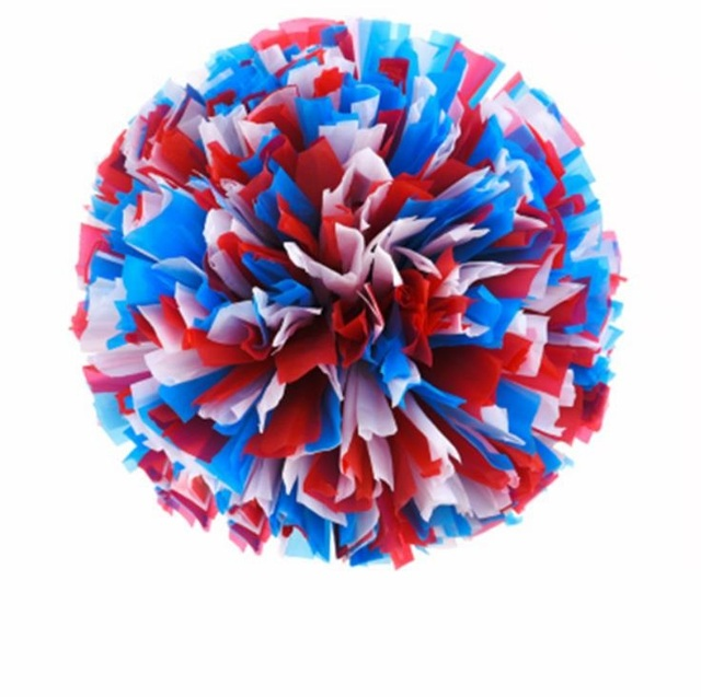 Customized 3 colors Small cheer pom poms 5c64fbbde3f95