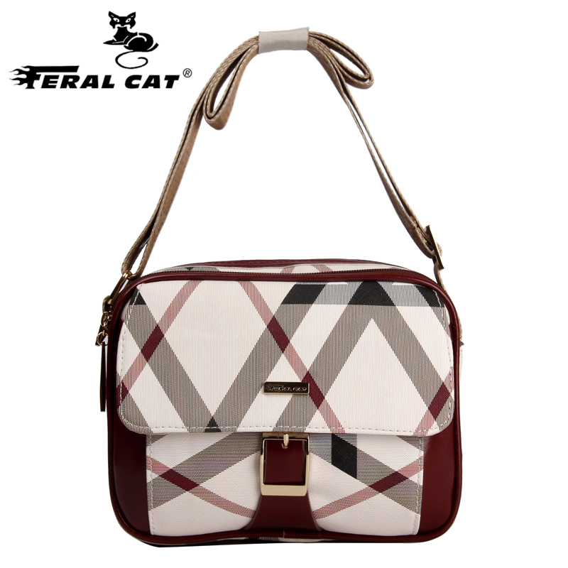 FERAL CAT Brand 2017 Fashion Crossbody Bags For Women Flap bag Ladies Small Shoulder Bag Mid-age High Quality Messenger Bags the lewis man
