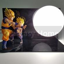 Goku & Gohan Kamehameha Lamp