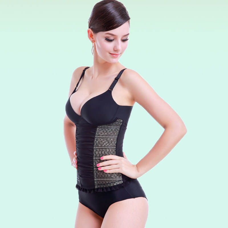 e62bb6b748100 Sexy Lace Women Invisible Waist Trainer Shapewear Slimming Underwear Body  Shaper Corset Body UnderwearCorrective Underwear 3030-in Waist Cinchers  from ...