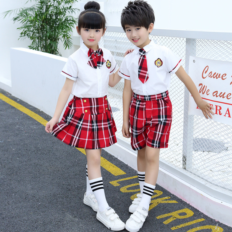 Children 39 sUniforms New Style Children 39 s Costumes Fashion Uniforms Sets Boys Girls Performance Costumes Schoolchildren Chorus in School Uniforms from Novelty amp Special Use