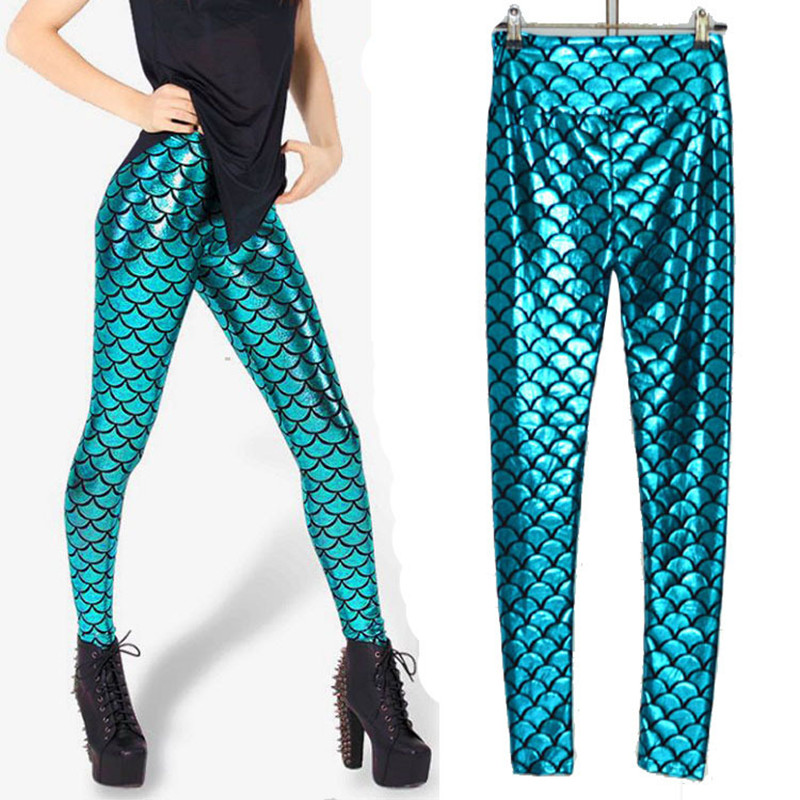 2 Colors Hot Sexy Beach Women Mermaid Tail Costume 3D Printed Fish Scale Legging Pants Halloween Fish Mermaid Costumes an435-in Pants u0026 Capris from Womenu0027s ...  sc 1 st  AliExpress.com & 2 Colors Hot Sexy Beach Women Mermaid Tail Costume 3D Printed Fish ...