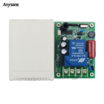 ce8f010dd8c 30A Control remoto inalámbrico AC 220 V 1CH receptor Rf 433 Mhz 315 MHz  código aprendizaje EV1527 casa inteligente relé interruptor inteligente  receptores