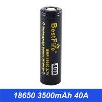 18650 Батарея 3,7 V батарея для вейпа 18650 3500 mAh 40A для курения AL85 Vaporesso Eleaf Wismec Тесла Ijoy поле Mod VS ICR18650 VTC6 B014