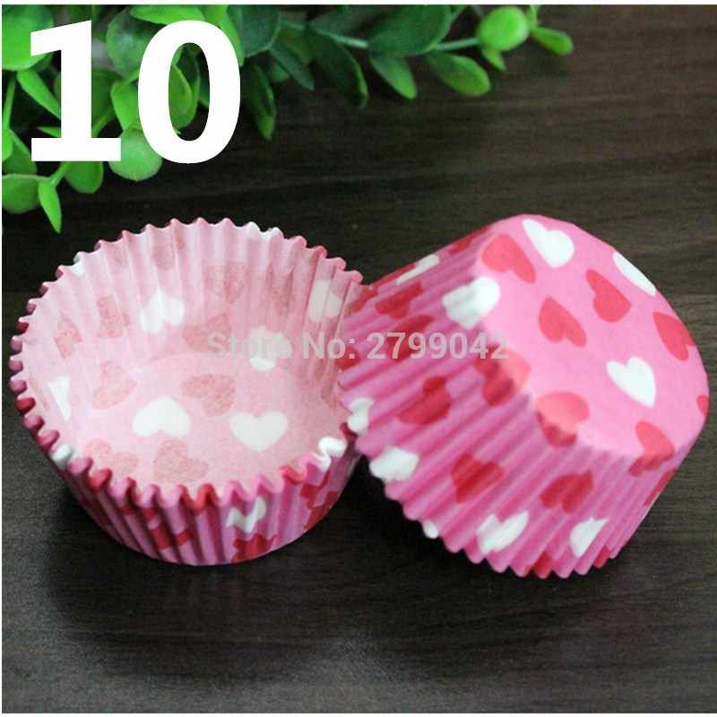 50 pcs/set Cooking Tools Grease-proof Paper Cup Cake Liners Baking Cup Muffin Kitchen Cupcake Cases Cake Mold