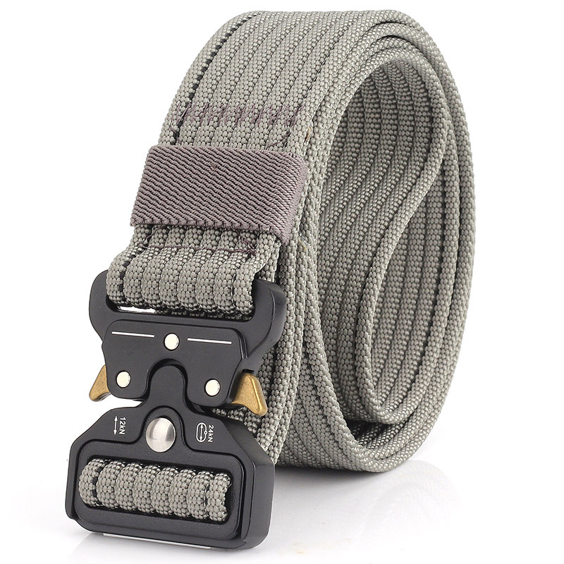 2019 Zinc alloy tactical belt Hot Mens Tactical Belt Military Nylon Belt Outdoor multifunctional Training Belt Strap ceintures in Men 39 s Belts from Apparel Accessories