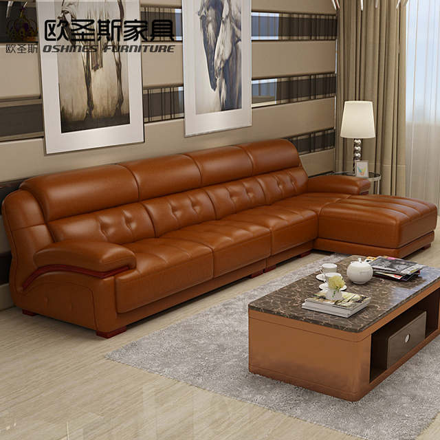 Online Shop orange leather sectional sofa, sofa chair leather,sofa ...
