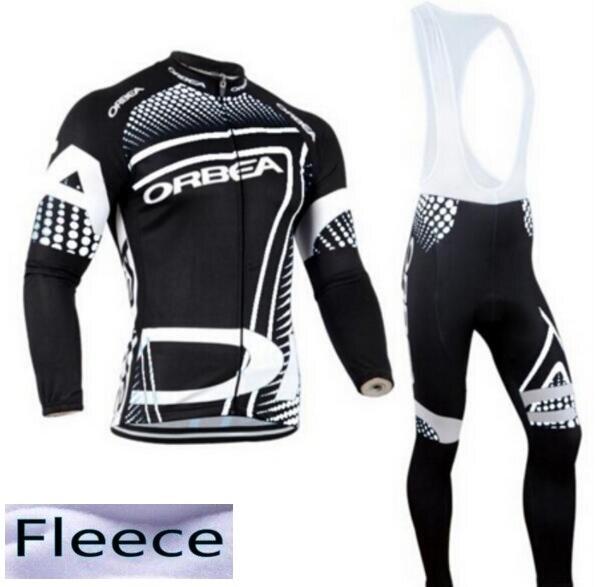 ФОТО 2016 Team ORBEA Long Ropa Ciclismo Cycling Jerseys/  winter thermal fleece Mountian Bicycle Clothing/MTB Bike Clothes For Man