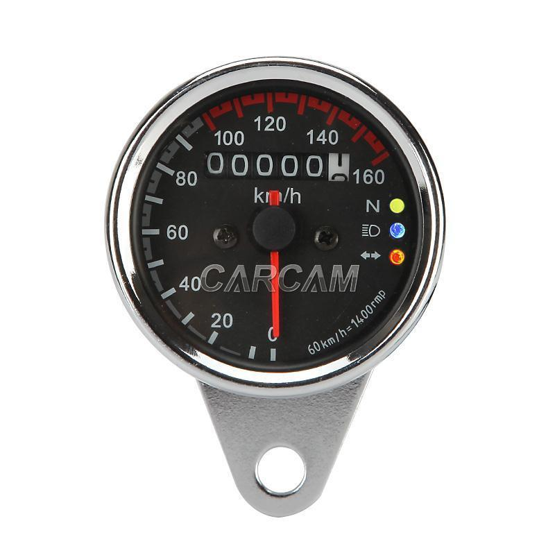 Motorcycle Dual Odometer Speedometer Gauge B For Yamaha