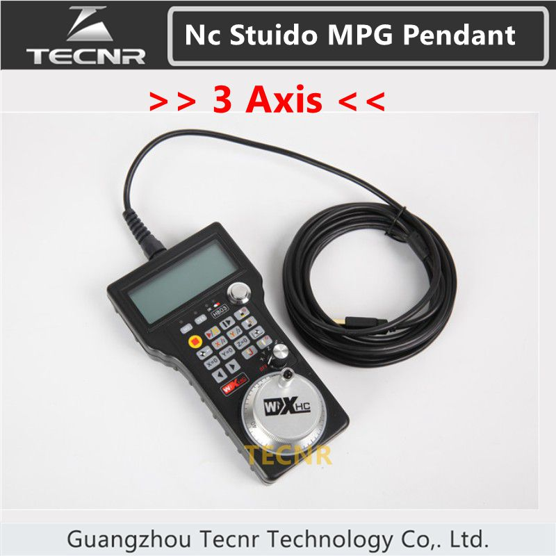 XHC NCStudio CNC Hand pulse generator MPG 3 axis NC Studio handwheel for cnc engraving machine 15119627