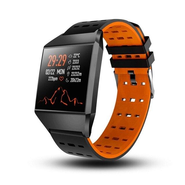 Wearpai W1C bluetooth Smart bracelet blood pressure monitor fitness tracker  smart sports watch for men IOS android waterproof