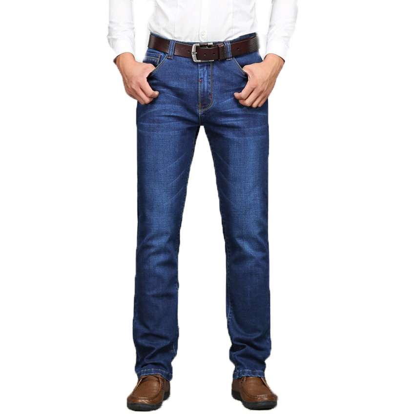 Fashion Male Denim Jeans True Famous Brand Casual Straight Denim Slim Fit Men Jeans Pants Deep Blue Homme Marque Jeans 58wy 17 shark summer new italy classic blue denim pants men slim fit brand trousers male high quality cotton fashion jeans homme 3366
