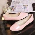Миссис выиграть Дамы Случайные Плоские Туфли Женские Острым Носом Весна Осень Удобные Женская Обувь chaussure femme Размер 35-41