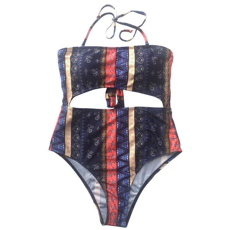 Новый Корректирующие боди для женщин Черный Боди для Летние Одежда заплыва пляжная пикантная одежда цветочный принт богемный плюс разме