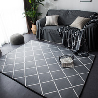Geometric Rugs And Carpets For Home Living Room Soft Modern Bedroom Floor Rugs Absorbent Coffee Table Are Rug Meeting Room Mats