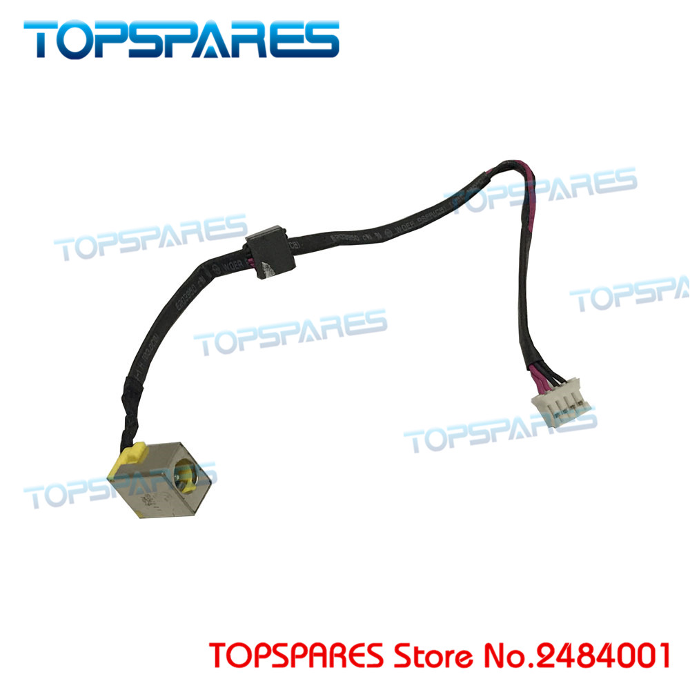 New Laptop Power DC Jack For <font><b>Acer</b></font> <font><b>Aspire</b></font> <font><b>4830</b></font> 4830T 4830G <font><b>4830TG</b></font> with Cable Power Head Power Connector image