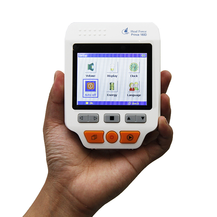 Heal Force Prince 180D Portable Household Heart Ecg Monitor CE & FDA Approved abpm50 ce fda approved 24 hours patient monitor ambulatory automatic blood pressure nibp holter with usb cable