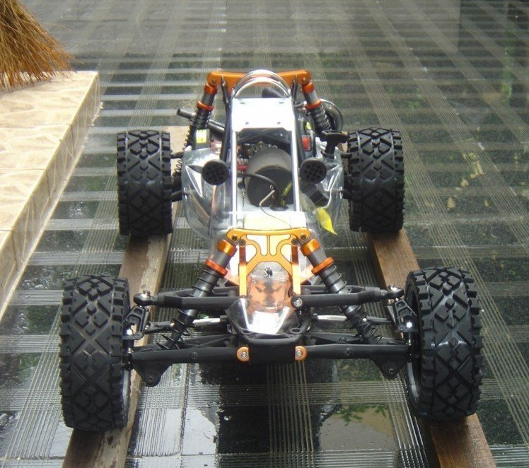 29cc metal head baja + DDM pipe + metal roll cage + metal Rear shock brace metal quick release roll cage