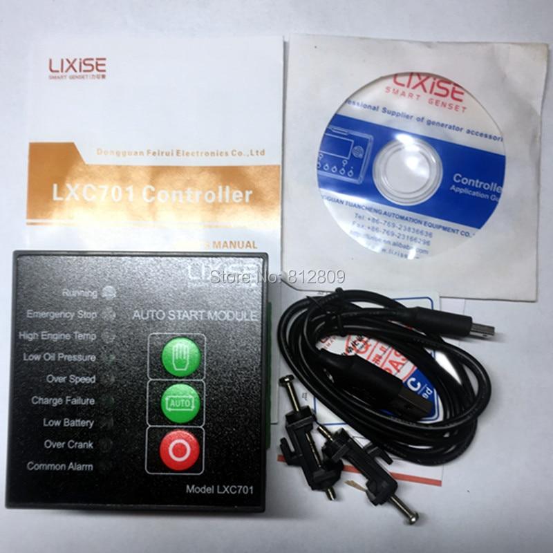 LXC701 LIXiSE Completely replaced deepsea 501 auto start genset control