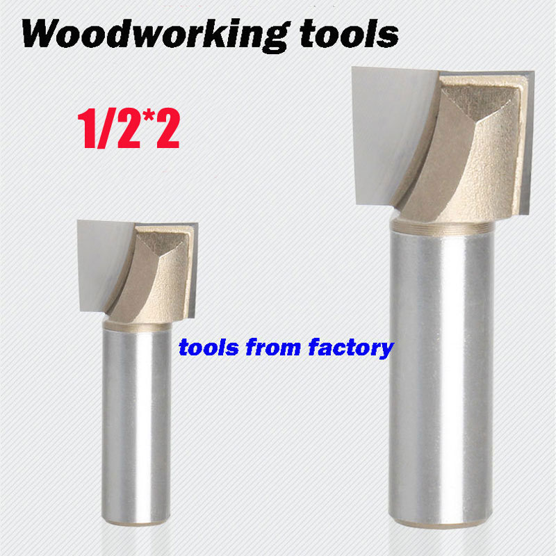 1pc wooden router bits 1/2*2 CNC woodworking milling cutter woodwork carving tool 1pc wooden router bits 1 2 5 8 cnc woodworking milling cutter woodwork carving tool