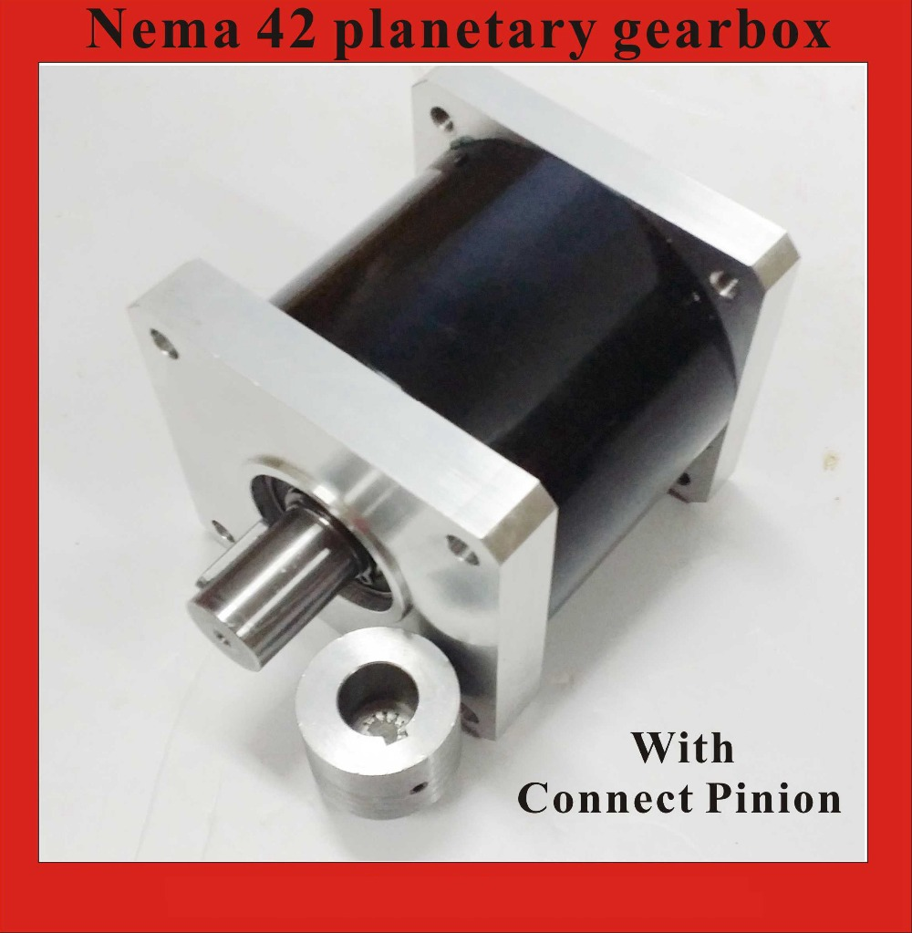 64:1 Planetary Gearbox NEMA42 for NEMA 42 Geared Stepper Motor Rated Load 260N.m (36111oz-in) loncin zongshen lifan tricycle motorcycle gearbox or shift gearbox for 150 200cc motorcycle powerful gearbox chuanyu brand