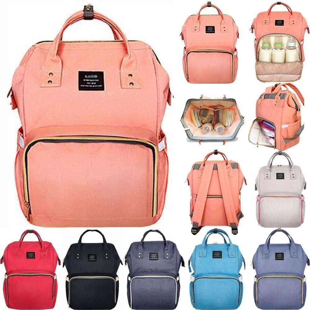 G-FAVOR Stor kapacitetsmummi Maternity Bag Nappy Blöja Barnväska - Handväskor - Foto 1