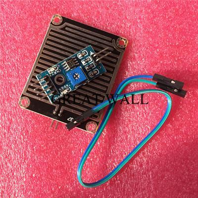 1set/lot Snow/Raindrops Detection Sensor Module Rain Weather Module Humidity For Arduino yu