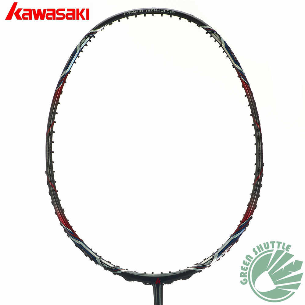 2019 Six Star 100% Genuine Kawasaki Mao18 K9 9900 II Badminton Racket Professional Offensive Powerful Racquet The Best Quality