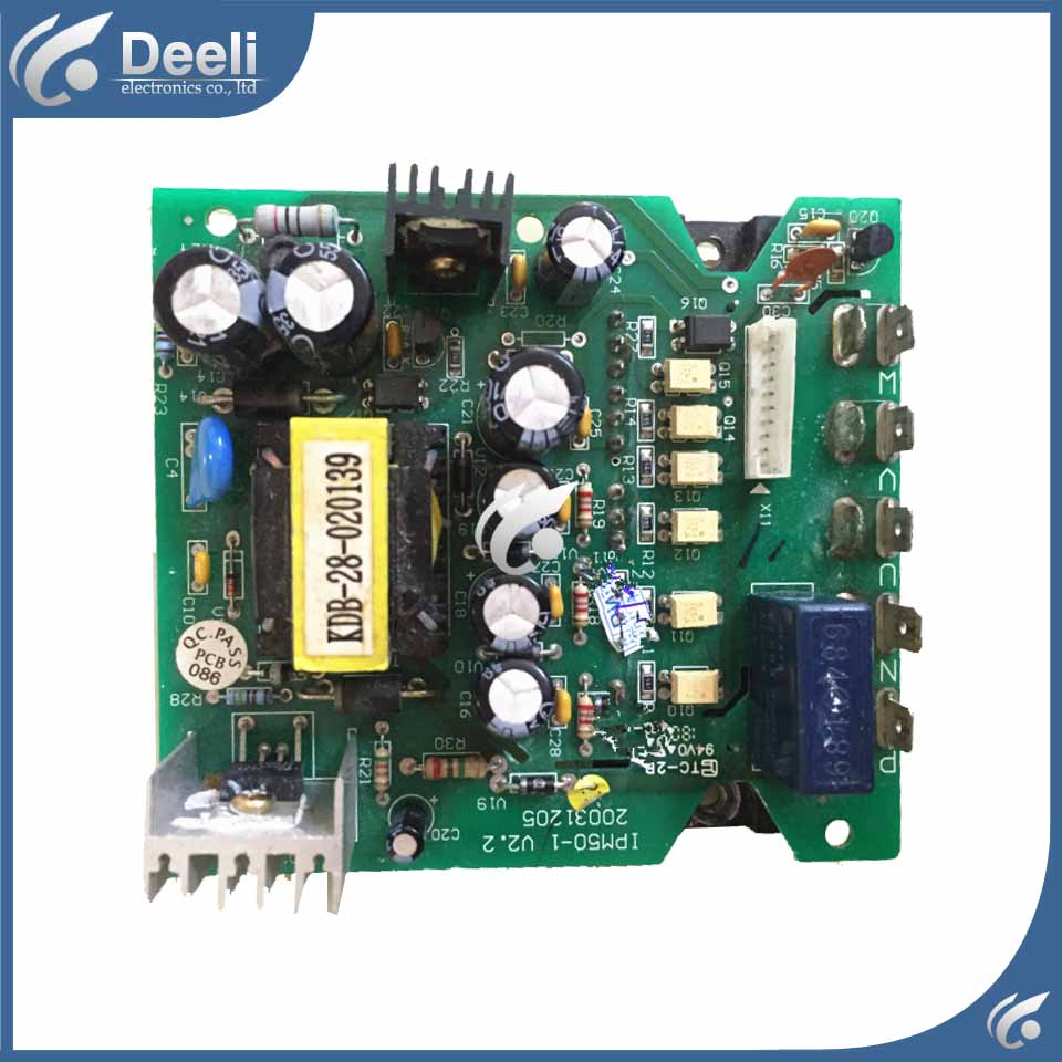 used Compatible board for air conditioning Computer board IPM50-1.V2.2 air conditioning board a74591 a74608 used disassemble
