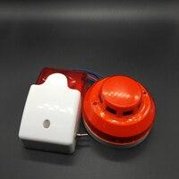Smoke Detector Portable Alarm Sensors 24V smoke detector For big truck Security Alarm System