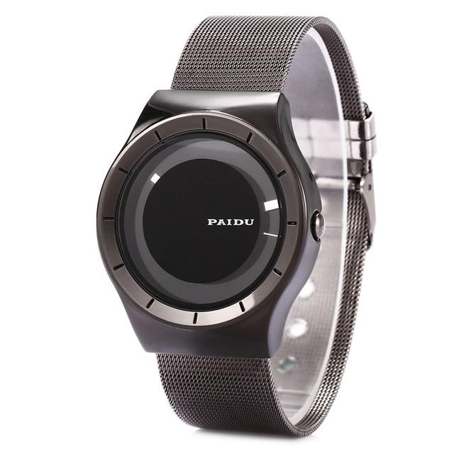 brand military quartz watch men women dress fashion causal Stainless Steel watches paidu gift Orologio Uomo relogio masculino