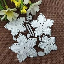 6Pcs Flower Metal Cutting Dies for Scrapbooking