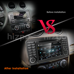 Image 5 - 2Din Car DVD Player For Mercedes Benz ML Class W164 GL350 X164 ML320 GPS Navigation Radio Stereo BT DAB+ DTV SWC CAM MAP SD TPMS