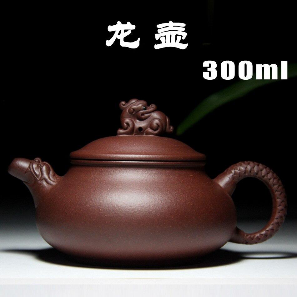 Yixing teapot genuine master all handmade teapots purple  Dragon teapot wholesale special Zisha teapot