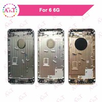 AAA For IPhone 6 6G 4 7 Housing Battery Cover Door Rear Cover Chassis Frame Back