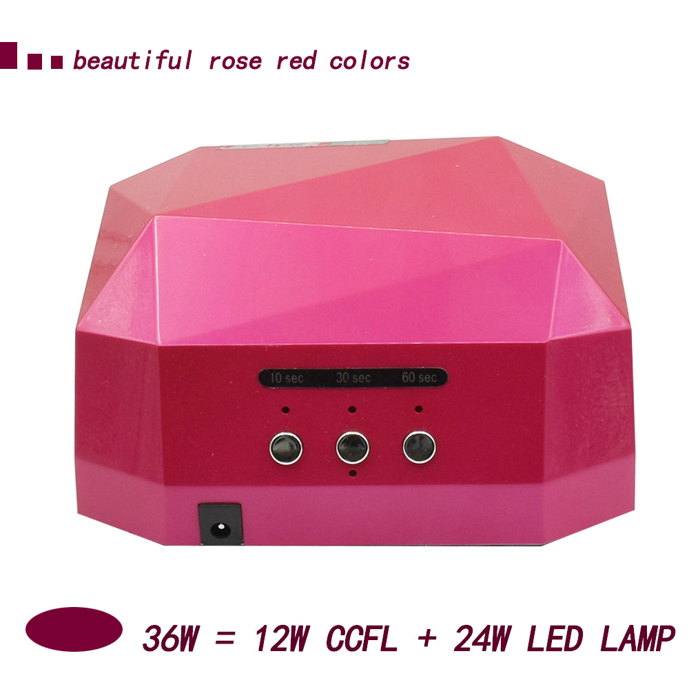 36W UV LED nail Lamp Dryer Nail Beauty Salon Cosmetic gel Polish Machine Curing light Nail