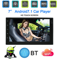 Android 7.1 System GPS Navigation 7 Inch Touchscreen Car Stereo BT Car Multimedia Player for bmw e46 e90 ford focus 2 volkswagen